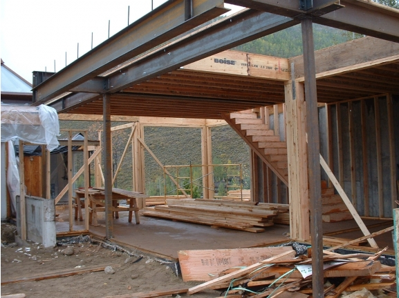 New Patio Roof Structure